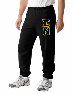 Sigma Nu Lettered Sweatpants