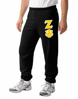 Zeta Psi Lettered Sweatpants
