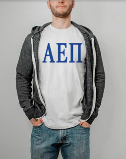 Alpha Epsilon Pi Lettered Tee - $9.95