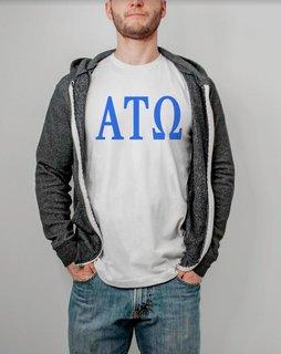 Alpha Tau Omega Lettered Tee - $14.95!