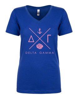 Delta Gamma Infinity V-Neck Shirt
