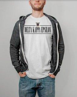 Delta Kappa Epsilon Line Crest Tee