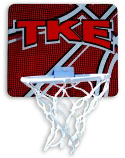 Greek Fraternity & Sorority Mini Basket Ball Hoop