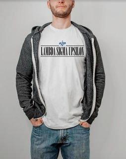 Lambda Sigma Upsilon Line Crest Tee