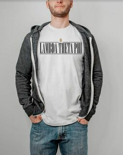 Lambda Theta Phi Line Crest Tee