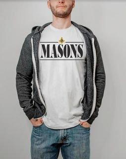 Masonic Line Crest Tee
