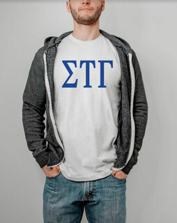 Sigma Tau Gamma Lettered Tee - $14.95!