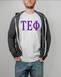 Tau Epsilon Phi Lettered Tee - $14.95!