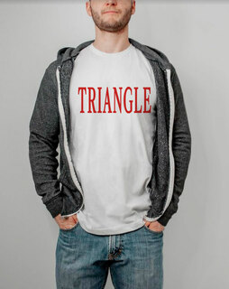 Triangle Lettered Tee - $14.95!