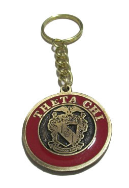 Theta Chi Metal Fraternity Key Chain