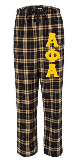 Fraternity Pajamas Flannel Pant