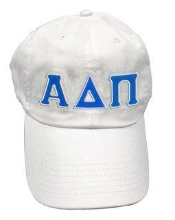 Alpha Delta Pi Double Greek Letter Cap
