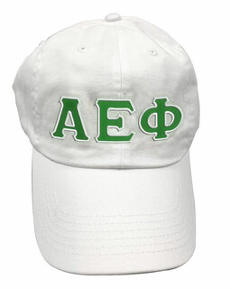Alpha Epsilon Phi Double Greek Letter Cap
