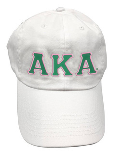 Alpha Kappa Alpha Double Greek Letter Cap
