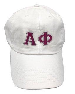 Alpha Phi Double Greek Letter Cap