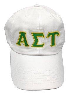 Alpha Sigma Tau Double Greek Letter Cap