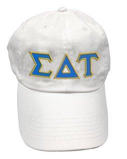 Sigma Delta Tau Double Greek Letter Cap