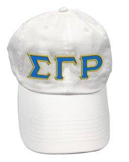 Sigma Gamma Rho Double Greek Letter Cap