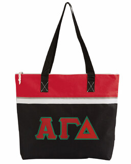 DISCOUNT- Alpha Gamma Delta Lettered Muse Totebag