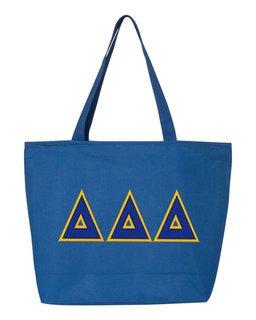 DISCOUNT- Delta Delta Delta Lettered Tote Bag