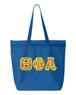 $19.99 Theta Phi Alpha Custom Satin Stitch Tote Bag