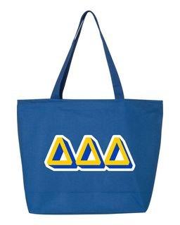 3D Letter Sorority Tote Bag