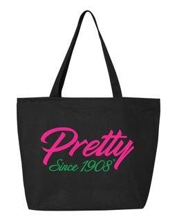 AKA - Pretty Since 1908 Liberty Bags