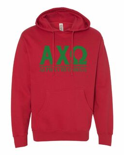 Alpha Chi Omega Message Hoodie
