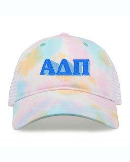 Alpha Delta Pi Sorority Sorbet Tie Dyed Twill Hat