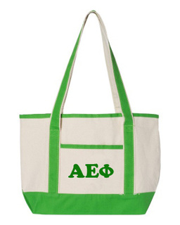 Alpha Epsilon Phi Sailing Tote Bag