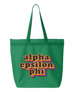 Alpha Epsilon Phi Maya Tote Bag