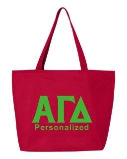 Alpha Gamma Delta Design Your Own Tote Bag