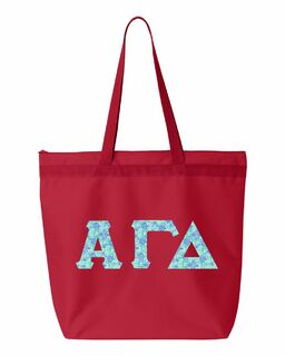 Alpha Gamma Delta Greek Letter Liberty Bag
