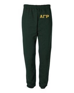 Alpha Gamma Rho Greek Lettered Thigh Sweatpants