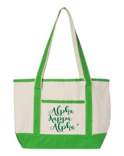 Alpha Kappa Alpha Sailing Tote Bag