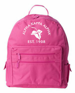 DISCOUNT-Alpha Kappa Alpha Mascot Backpack