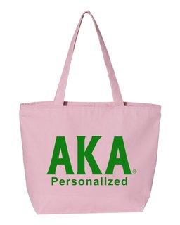 Alpha Kappa Alpha Design Your Own Tote Bag