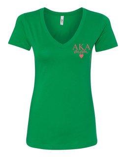 Alpha Kappa Alpha Mom Ideal V-Neck