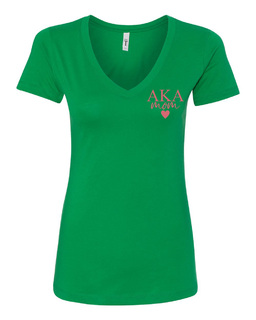 Alpha Kappa Alpha Mom Ideal V-Neck