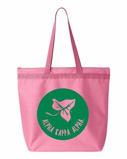 Alpha Kappa Alpha Symbol Circle Mascot Tote Bag