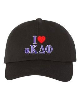 alpha Kappa Delta Phi I Love Hats