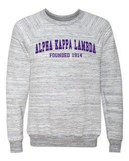 Alpha Kappa Lambda Fraternity Founders Crew Sweatshirt