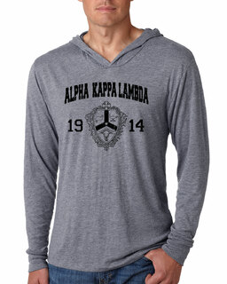 Alpha Kappa Lambda Unisex Triblend Long-Sleeve Hoodie