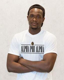 Alpha Phi Alpha Line Crest Tee