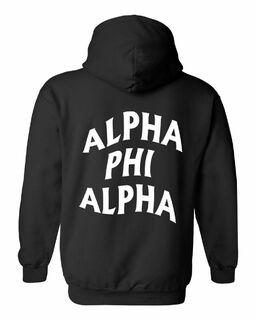 Alpha Phi Alpha Social Hooded Sweatshirt