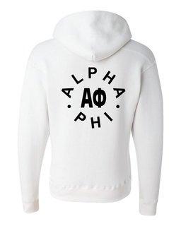 Alpha Phi Circle Hoodie