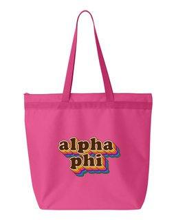 Alpha Phi Maya Tote Bag