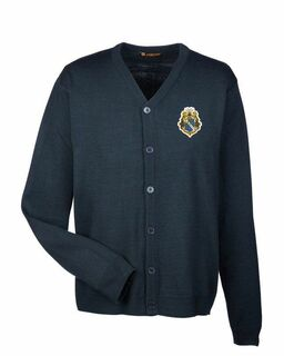 Alpha Phi Omega Greek Letterman Cardigan Sweater