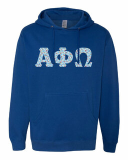 Alpha Phi Omega Lettered Independent Trading Co. Hooded Pullover Sweatshirt