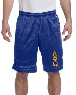Alpha Phi Omega Mesh Short